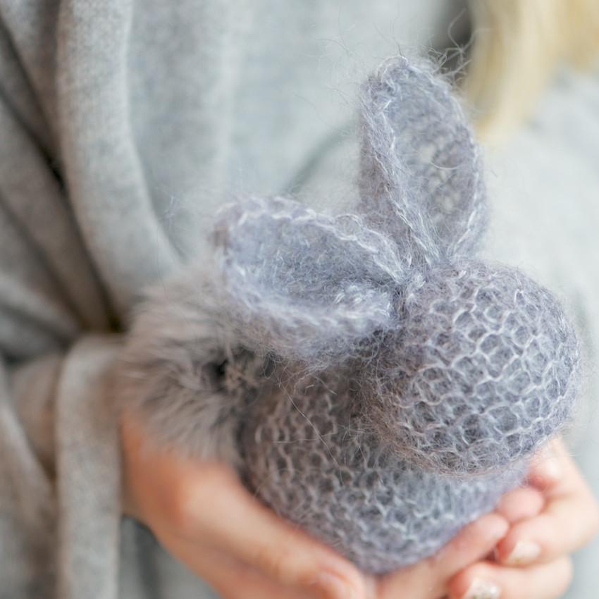 Knit Bunny Ears Pattern : Square Bunny Knit Pattern 2