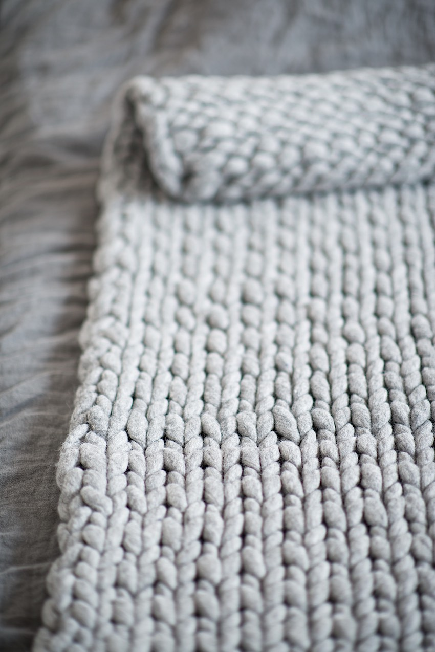 Knitting A Blanket With UnSpun Wool  Tips, Tricks And