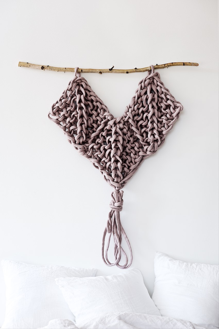 Knitted Wallhanging Pattern