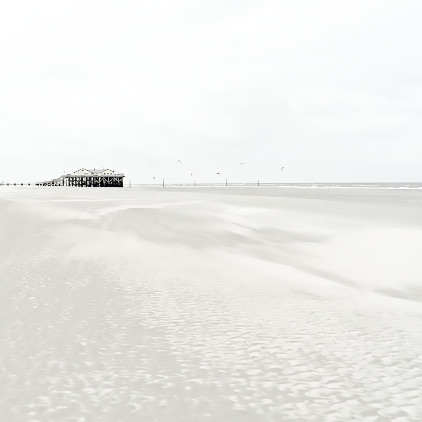 stilts houses Sankt Peter Ording Germany