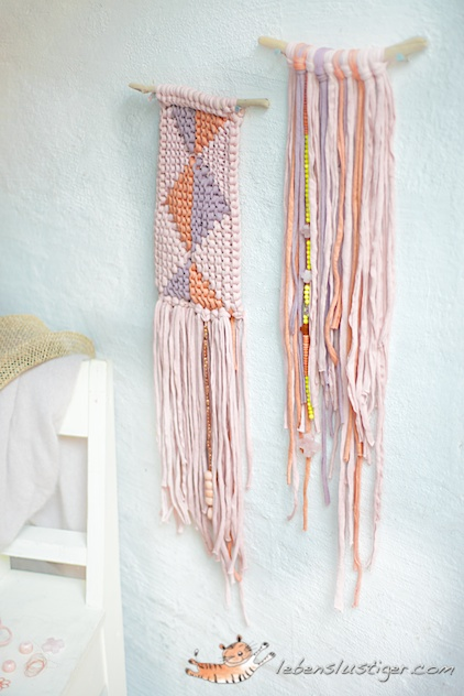 fabric yarn wall-hangings