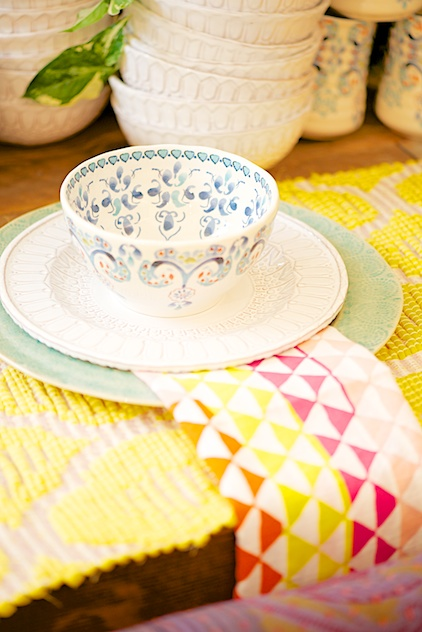 Anthropologie dishes, Geschirr von Anthropologie