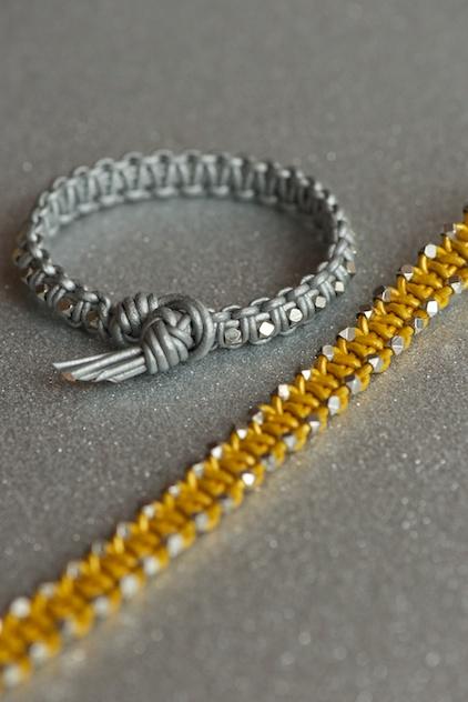 leather bracelet diy again