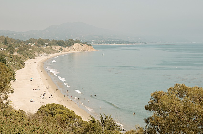 Summerland Beach near Santa Barbara