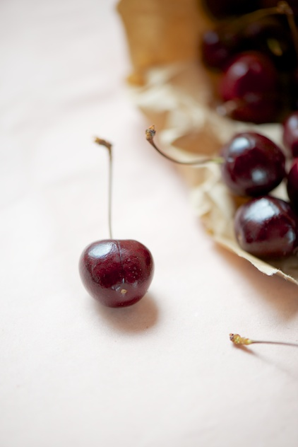 sweet cherries, Süßkirschen